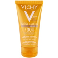 Tan Optimizing Hydrating Face Gel - Fluid SPF 30