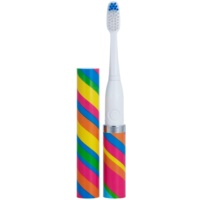 Violife Slim Sonic Carnival Battery-Powered Sonic Toothbrush with Replacement Head