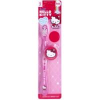 VitalCare Hello Kitty Kinderzahnbürste mit Reise-Etui