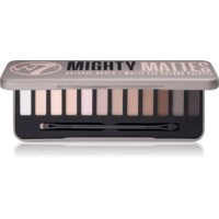 W7 Cosmetics Mighty Mattes палетка тіней