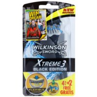Wilkinson Sword Xtreme 3 Black Edition Wegwerp Scheermessen