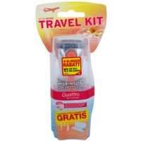 Razor + 2 Replacement Heads Travel Package