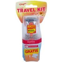 holiaci strojček + 2 náhradné hlavice cestovné balenie