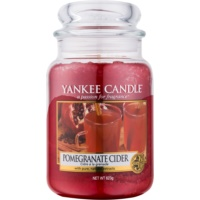 Yankee Candle Pomergranate Cider Duftkerze  623 g Classic groß