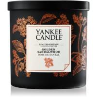 Yankee Candle Golden Sandalwood dišeča sveča  198 g majhna