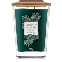 Yankee Candle Elevation Frosted Fir candela profumata 552 g grande
