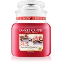 Yankee Candle Frosty Gingerbread ароматна свещ  411 гр. Classic средна