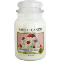 Yankee Candle Strawberry Buttercream ароматизована свічка  623 гр Classic велика
