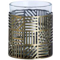 Скляний підсвічник для вотивної свічки