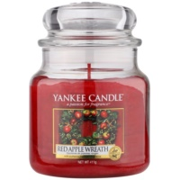 Yankee Candle Red Apple Wreath Duftkerze  411 g Classic medium