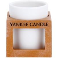 Ceramic Holder for Votive Candle    (Terracotta)