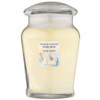 Yankee Candle Sweet Vanilla Scented Candle 340 g Medium