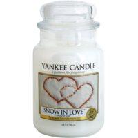 Yankee Candle Snow in Love vonná sviečka 623 g Classic veľká