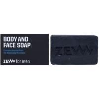 Zew For Men естествен твърд сапун за тяло и лице