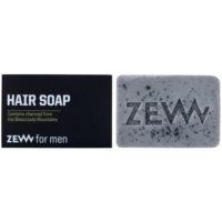 přírodní tuhé mýdlo na vlasy