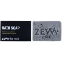 prírodné tuhé mydlo na vlasy