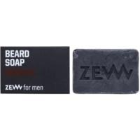 Zew For Men jabón natural en barra para barba