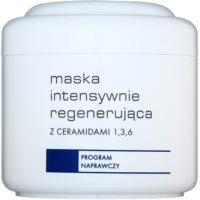 máscara de regeneração intensiva com ceramides