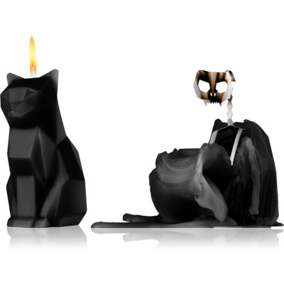 54 Celsius PyroPet KISA (Cat) decorative candle Black