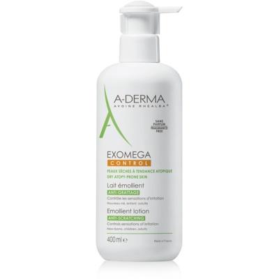 A-Derma Exomega пом'якшуюче молочко для тіла для дуже сухої та чутливої, атопічної шкіри