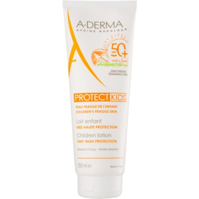 A-Derma Protect Kids Protective Sunscreen Lotion for Kids SPF 50+