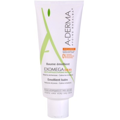 A-Derma Exomega Body Balm For Very Dry Sensitive And Atopic Skin