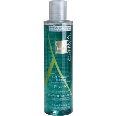 gel espumoso de limpeza para pele problemática, acne