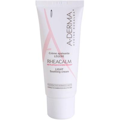 crème apaisante pour peaux normales à mixtes