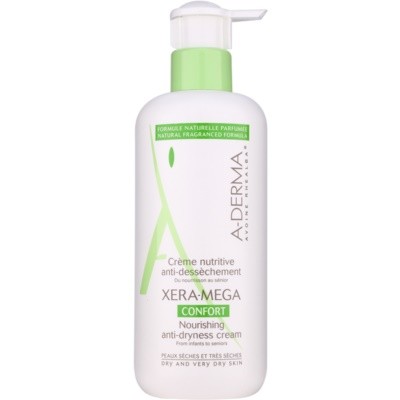 A-Derma Xera-Mega Confort Nourishing Face and Body Cream For Dry To Very Dry Skin