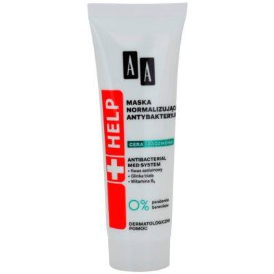 antibakteriální normalizující maska