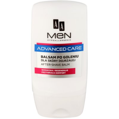 baume après-rasage pour peaux matures