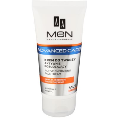 AA Cosmetics Men Advanced Care Energigivande kräm för ansikte