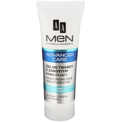 Moisturising and Soothing Gel For Face And Beard Zone