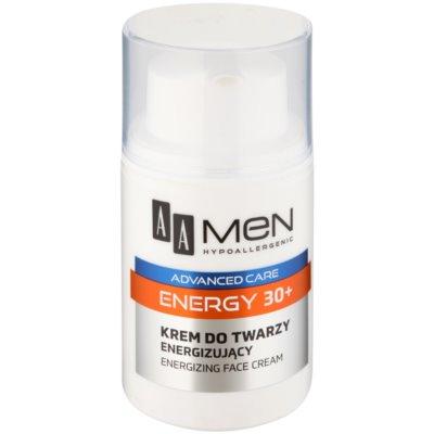 Energie-Creme für das Gesicht