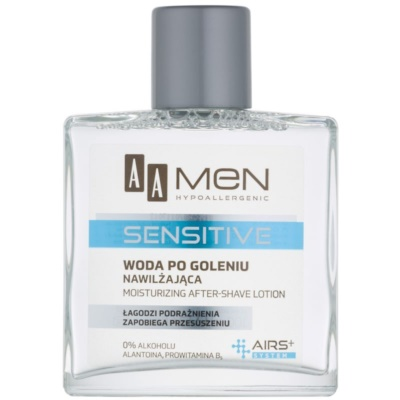 AA Cosmetics Men Sensitive Aftershave Water with Moisturizing Effect