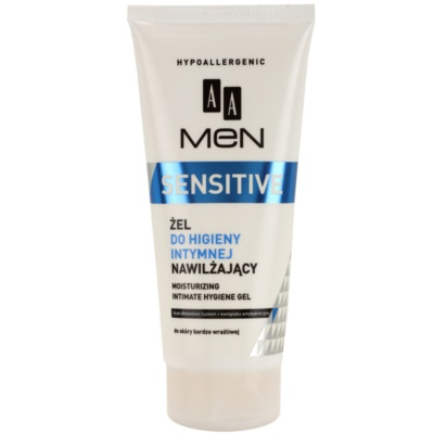 AA Cosmetics Men Sensitive Gel for Intimate Hygiene With Moisturizing Effect