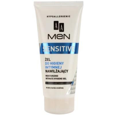 AA Cosmetics Men Sensitive гел за интимна хигиена с хидратиращ ефект