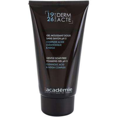 gel nettoyant doux pour resserrer les pores et pour un look mat