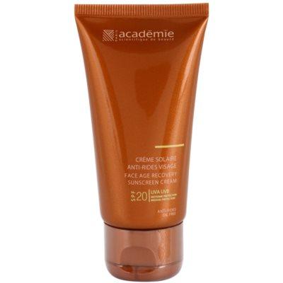 сонцезахисний крем проти старіння шкіри SPF 20