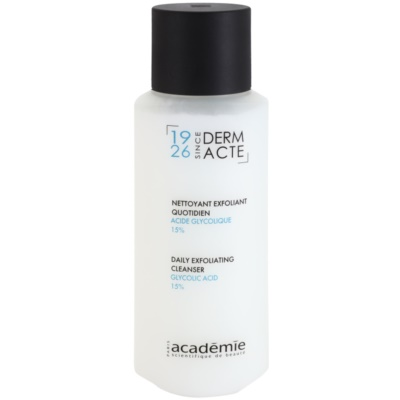exfoliant enzymatique à l'acide glycolique 15%