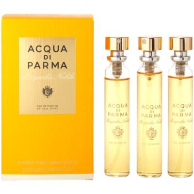 Eau de Parfum für Damen 3 x 20 ml Dreifach-Nachfüllpackung mit Zerstäuber