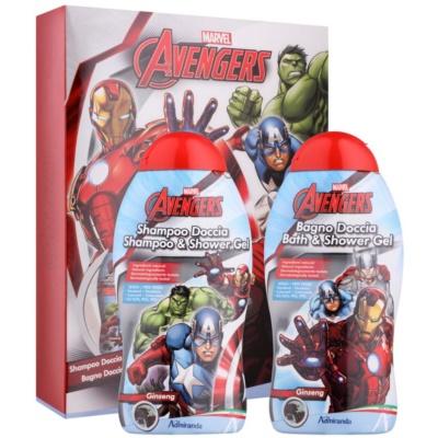Admiranda Avengers coffret I.  champô 300 ml + gel de duche 300 ml