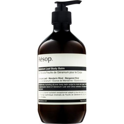 Aésop Body Geranium Leaf lait corporel hydratant