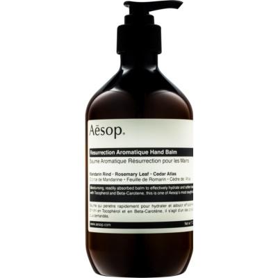 Aēsop Body Resurrection Aromatique bálsamo de hidratación profunda  para manos