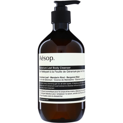 Aésop Body Geranium Leaf Body Cleanser