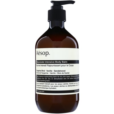 Aésop Body Rejuvenate Intensive hydratačný telový balzam pre suchú pokožku