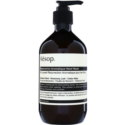 Aēsop Body Resurrection Aromatique reinigende Flüssig-Handseife