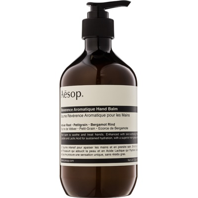 Aésop Body Reverence Aromatique baume hydratant mains