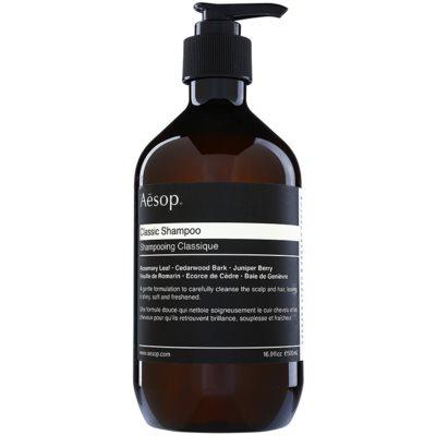 Aēsop Hair Classic champô suave para todos os tipos de cabelos