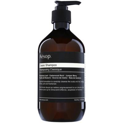 Aēsop Hair Classic finom állagú sampon minden hajtípusra